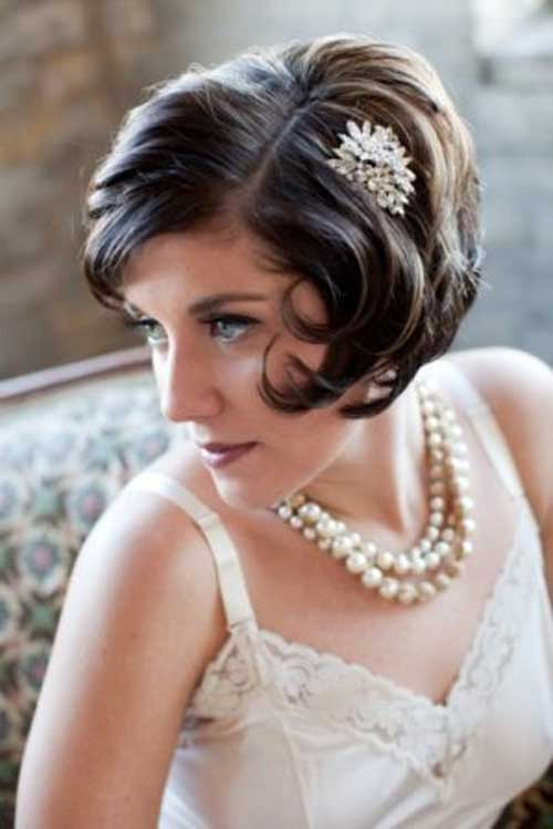 Charming Short Wedding Bob Hairstyles
