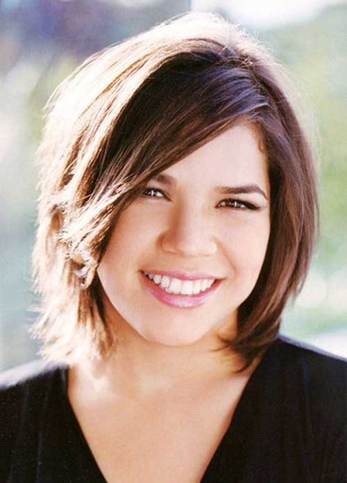 Short Simple Casual Short Cute Hairstyle Rounded Faces