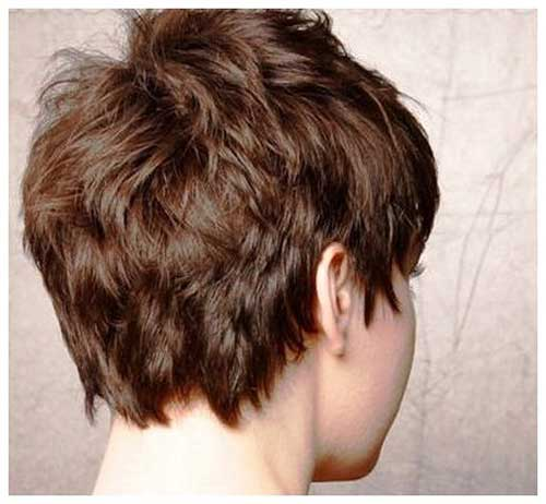 Really Short Thick Pixie Style