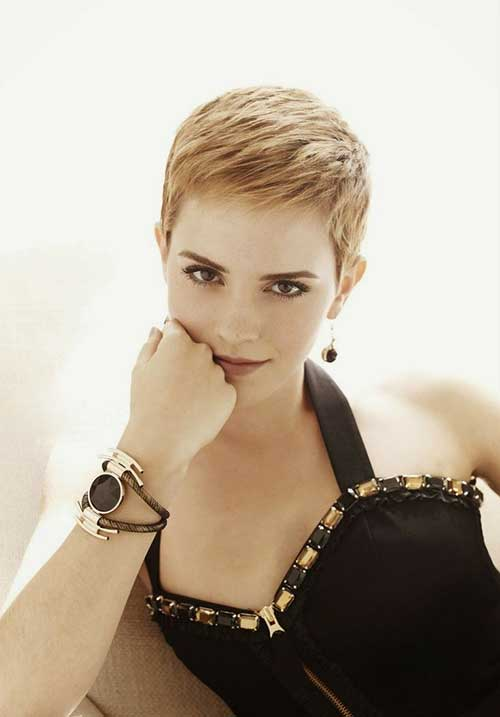 Emma Watson Pixie Cut Hairstyles