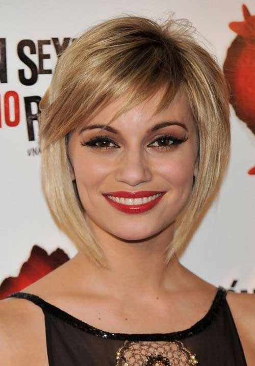 Short Blonde Textured Bob Hairstyles