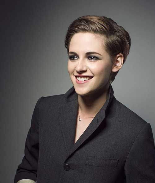 Kristen Stewart Gets Dramatic Short Hairstyles