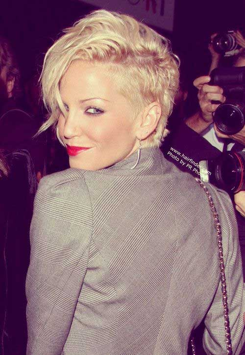 Trendy Short Celebrity Hairstyles