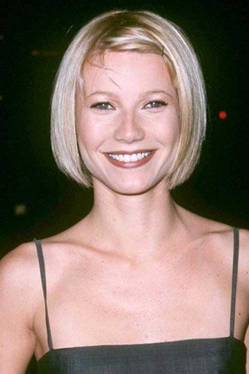 Gwyneth Young Cute Short Bob Hairstyles