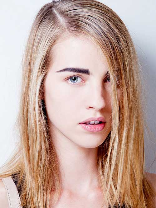 Blonde Medium Layered Hair Styles