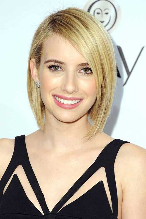 Blonde Symmetrical Hair Styles