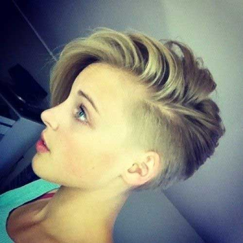 Short Shaved Pixie Haircuts
