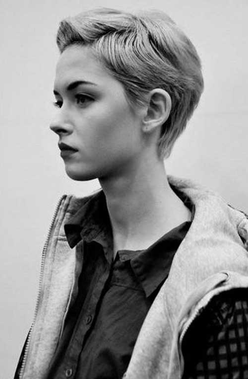 Tomboy Lovable Short Pixie Hairstyles