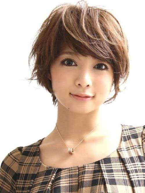 Short Layered Pixie Haircuts for Asian Girls