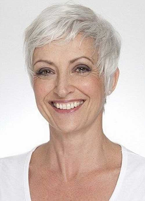 Short Pixie Hairstyles for Older Women