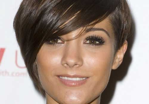 Frankie Sandford Hair with Bangs