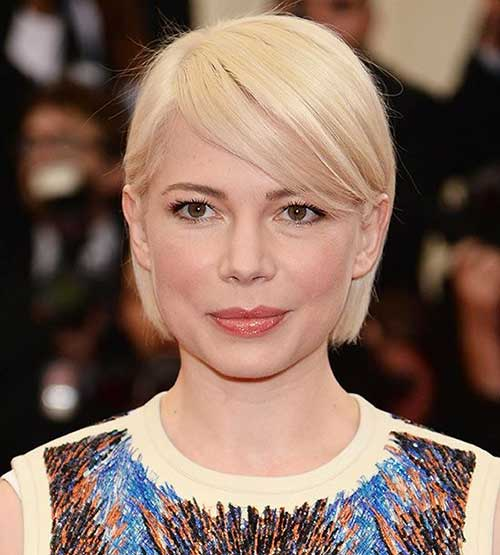 Michelle Williams Short Haircuts for 2014-2015