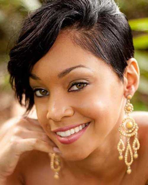 Short Natural Black Hairstyles for African and American Girls