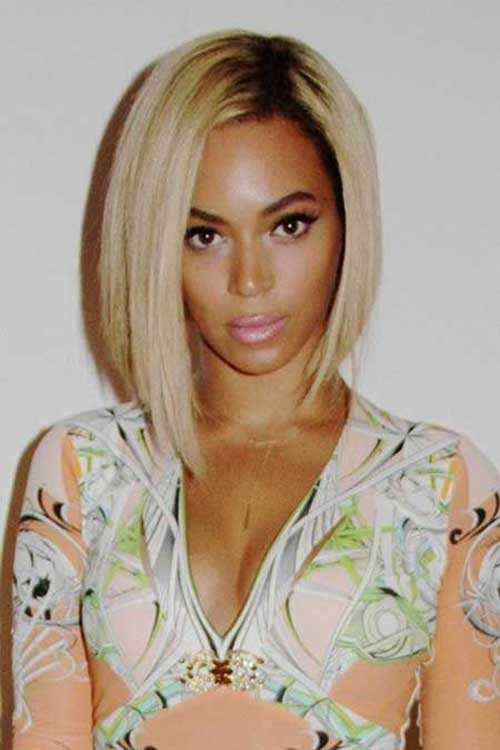 Beyonce Short Bob Hairsyles