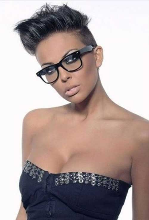 Black Short Pixie Hairstyles for Women