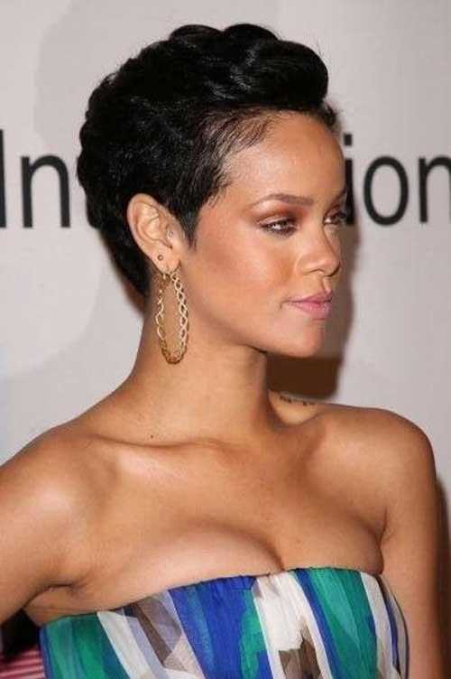 Cute Short Pixie Haircuts for Black Women