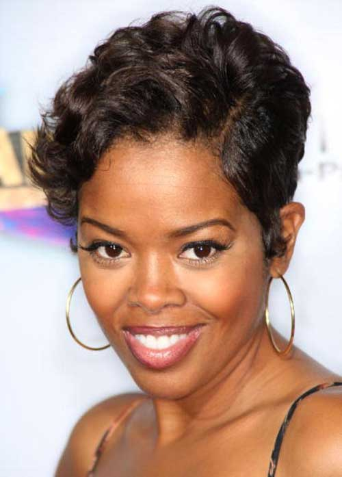 Easy Short Pixie Hairstyles for African American Women