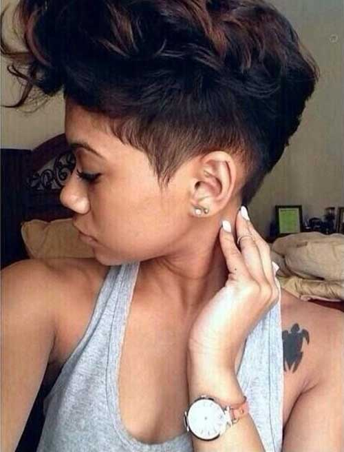 Natural Tapered Haircuts with Side Shaved