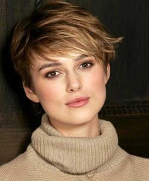 Short Wavy Pixie Haircuts