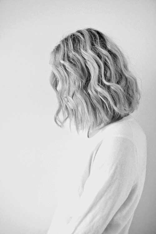 Medium Bob Hair with Beacy Wave