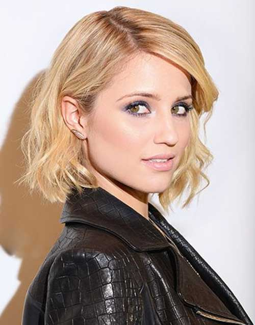 Short to Medium Bob Haircuts with Wavy Ends