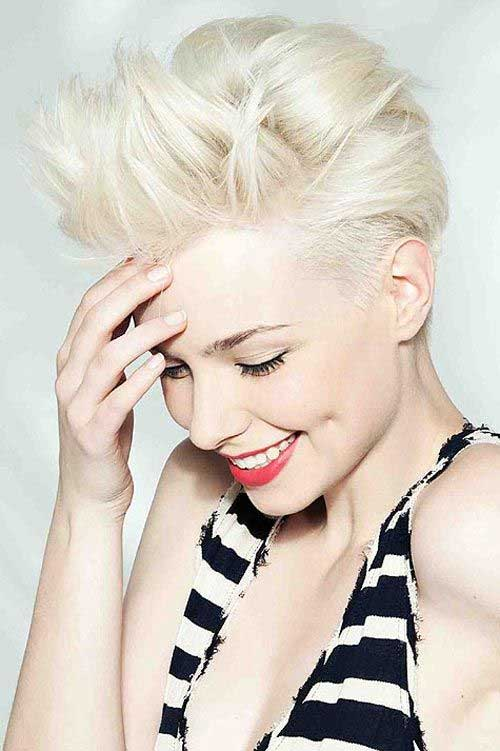 Short Voluminous Pixie Hairstyles