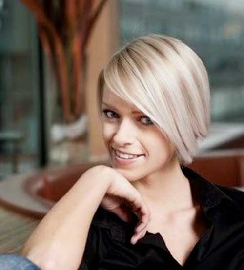 Short Straight Cute Simple Bob Hairstyles