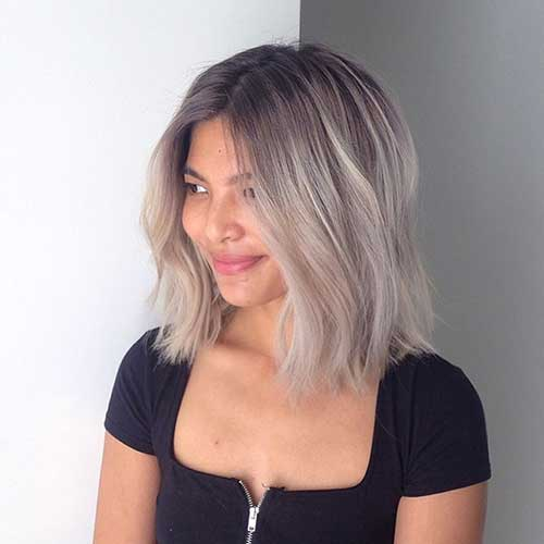 Short Extreme Ombre Style for Girls