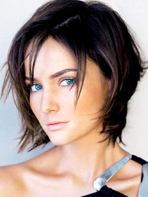 Short Layered Filled Hair for Women