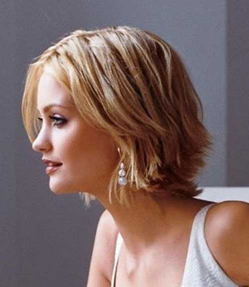 Short Layered Pointy Hairstyles for Women