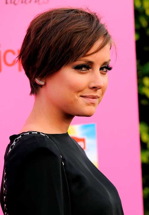 Short Flat Simple Hairstyles