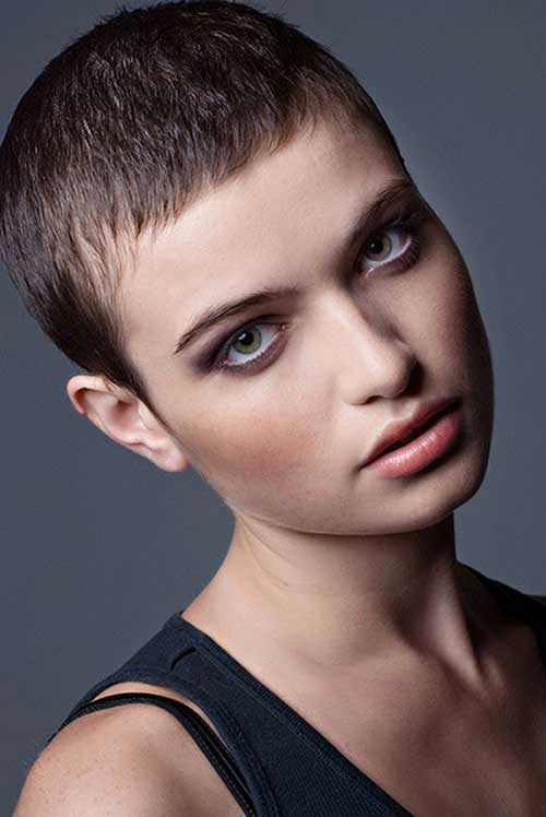 Extremely Short Simple Thin Hairstyles