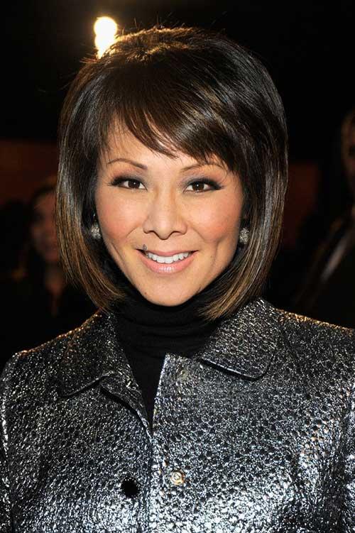 Alina Cho Thick Hairstyle