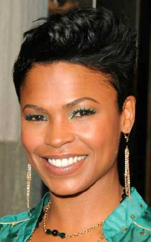 African American Short Pixie Haircuts for Black Women
