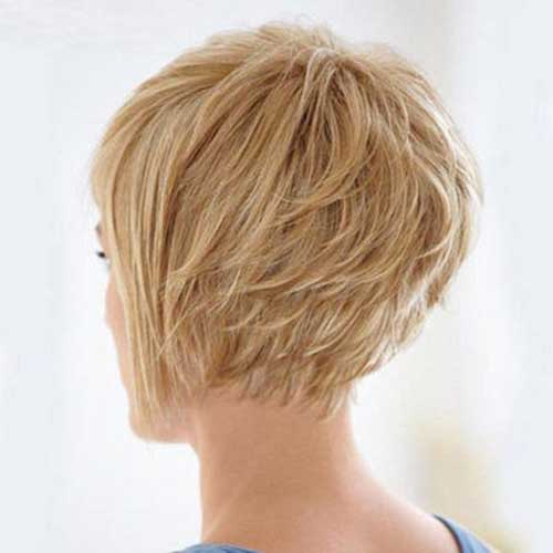 Pretty Graduated Bob Hairstyle