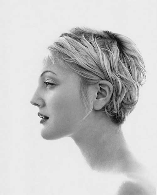 Short Hairstyles Photographed by Herb Ritts