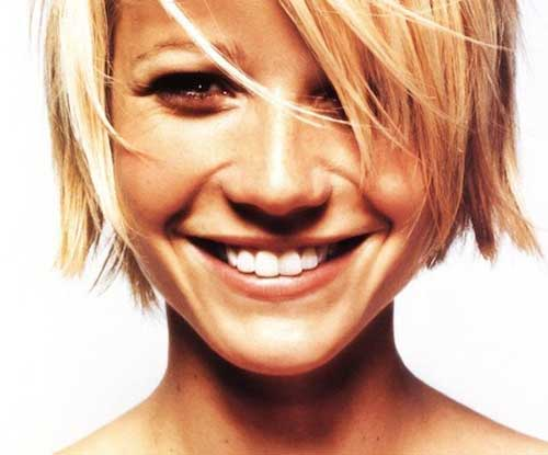 Gwyneth Paltrow Untamed Short Hairstyles