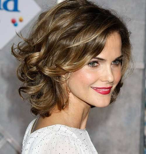 Curly Hairstyles for Thick Hairdo
