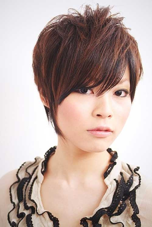 Cute Girl Hairstyles for Short Haircut