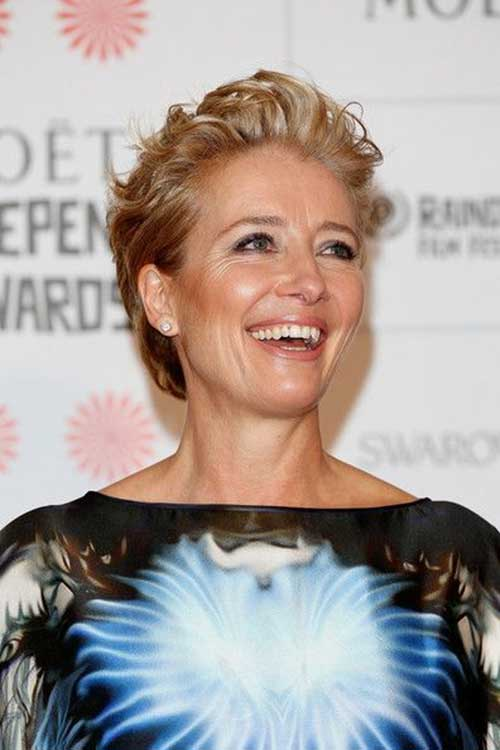 Emma Thompson Messy Celebrity Cuts