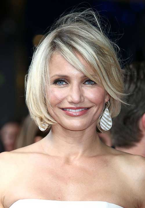 Cameron Diaz Bob Celebrity Hairstyles
