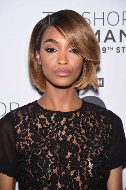 Jourdan Dunn Gorgeous Haircuts Bob