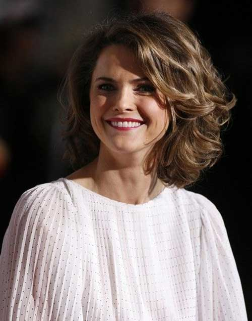 Keri Russell Curly Celebrity Hairstyles