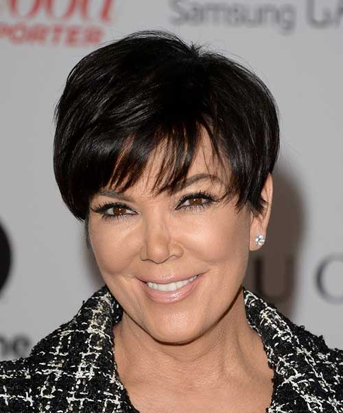 Kris Jenner Pixie Hairstyles