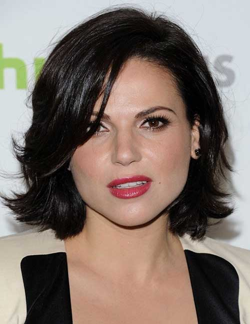 Lana Parrilla Natural Short Hairstyles