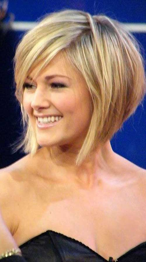 Short Classic Blonde Bob Hairstyles