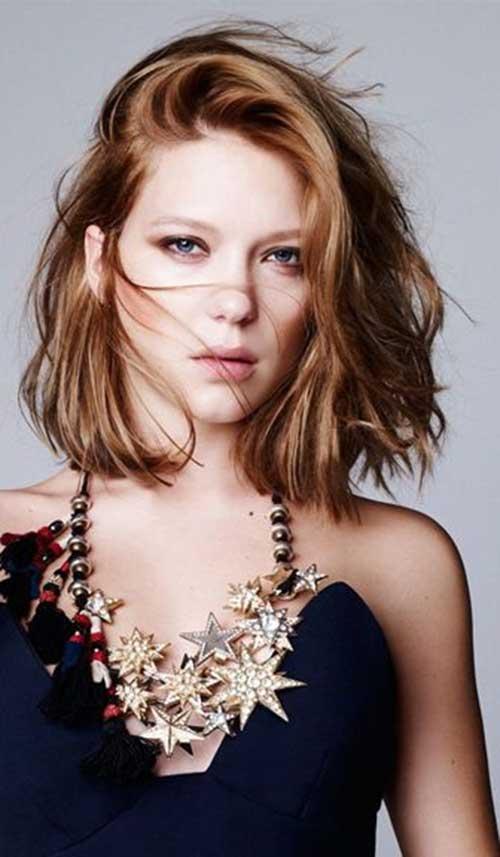 Lea Seydoux Hairstyles