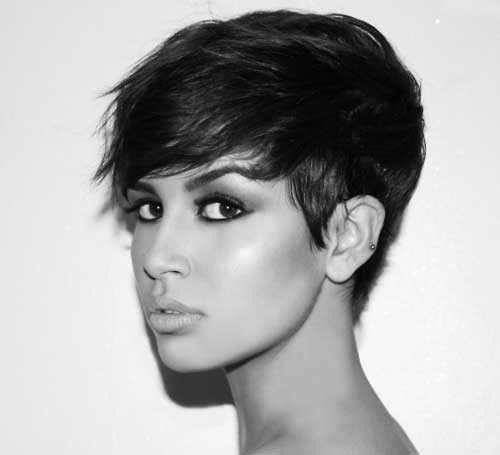 Chic Long Pixie Haircut