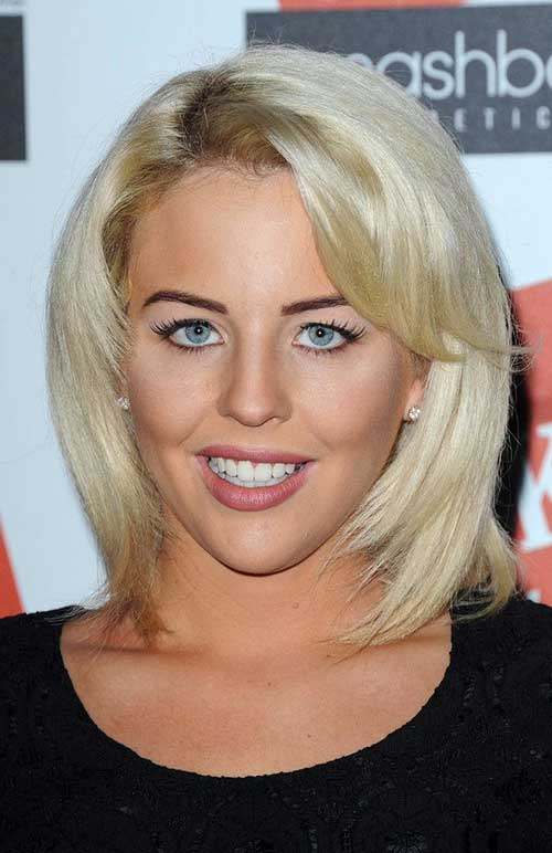 Lydia Bright Straight Cuts with Bangs