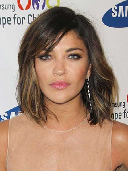 Long Bob Brown Ombre Hairstyles and Color
